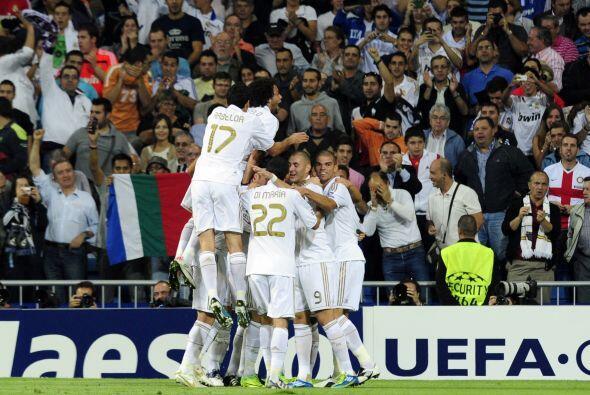 Los 'Mourinho boys' comenzaban de la mejor manera, jugando bien ante su...