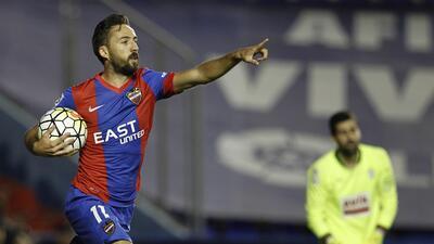José Luis Morales lideró la victoria del Levante