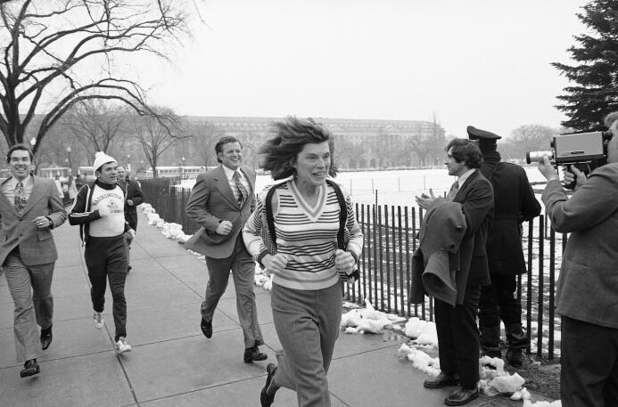 Eunice Kennedy Shriver, que también fue una atleta, conocía desde el pri...