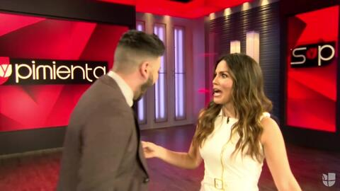 Mira el tremendo grito que Jomari le metió a Karina en el estudio ¿A qué...