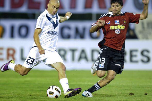 Vélez clasificó a los octavos de final como segundo del Grupo 4 de la Co...