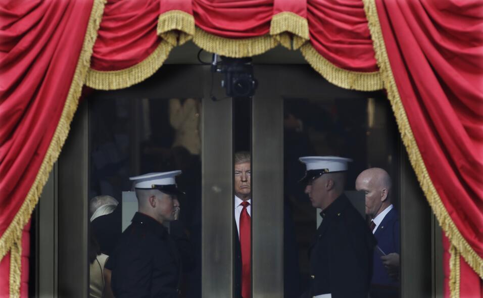 Inauguration Trump puerta