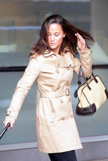 La hermana de Kate Middleton adora estar de visita en la Gran Manzana.