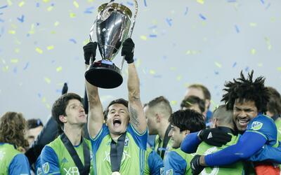 Seattle Sounders, ganador de la MLS Cup el año pasado. ¿Po...
