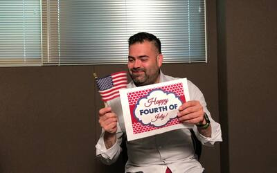 Robbie Rob Celebrates Fourth of July