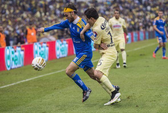 23; Gerardo Lugo: Al  igual que Damián, no fue el mismo que en el juego...