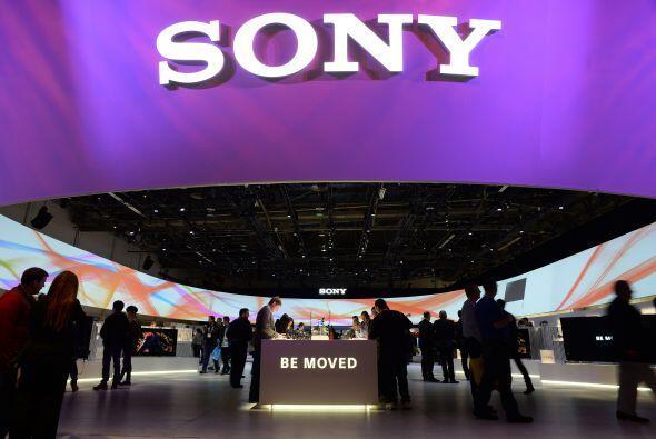 4. Sony Corp. es reconocida por sus productos electrónicos de consumo, c...