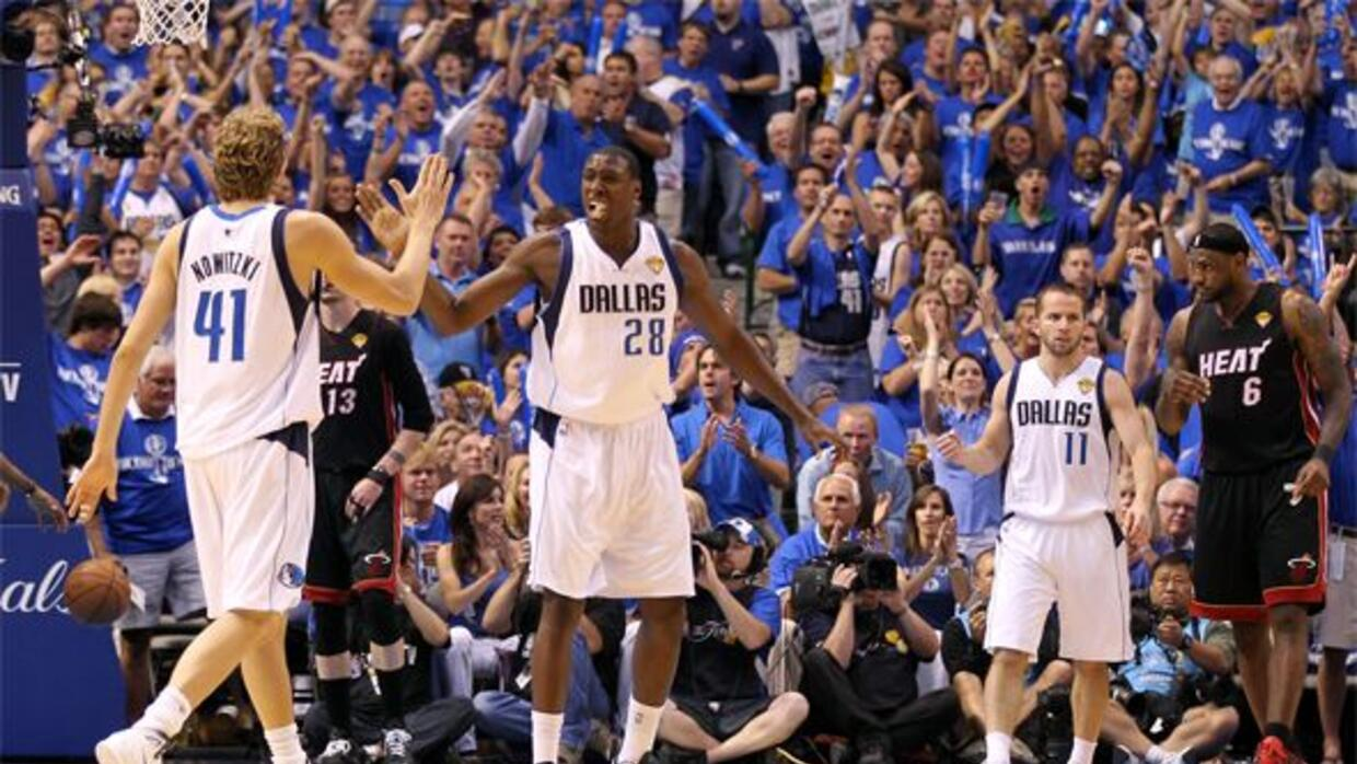 Los Dallas Mavericks pusieron al Miami Heat contra la espada y la pared...