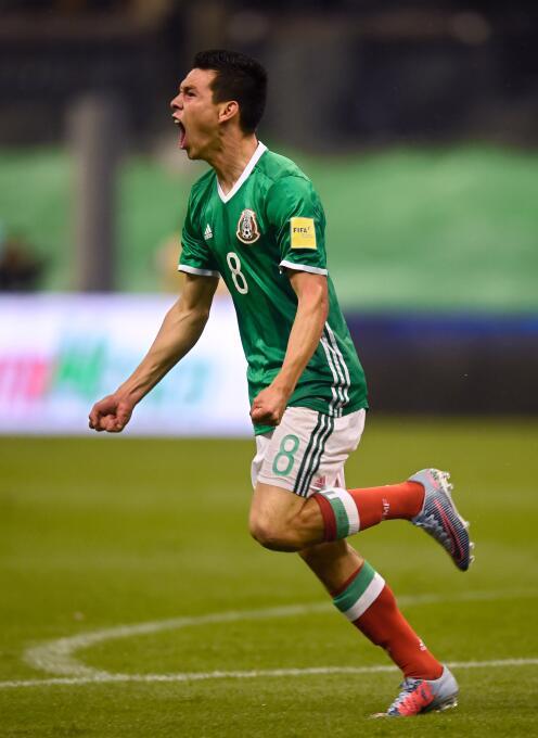 Hirving Lozano - 22 años (México / PSV Eindhoven)