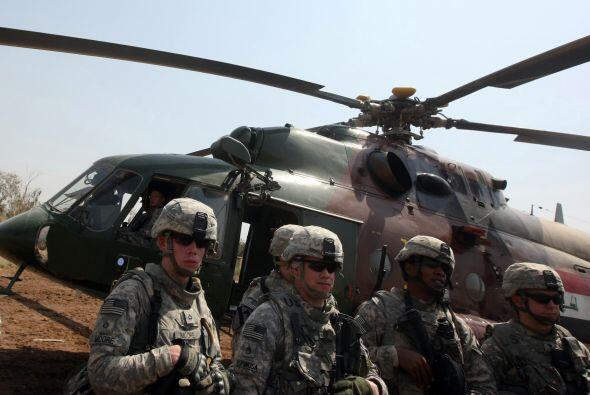 Antes del 31 de agosto, aproximadamente la mitad de los 4,000 soldados d...
