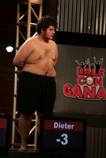 Al rebajar más de 40 libras Dieter ya mostraba que iría por todo en la c...