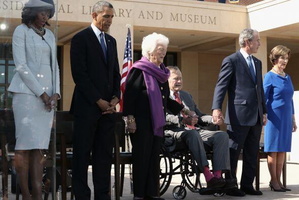 """""""Conocemos a George Bush, es un buen hombre"""", enfatizó Obama, quien agre..."""