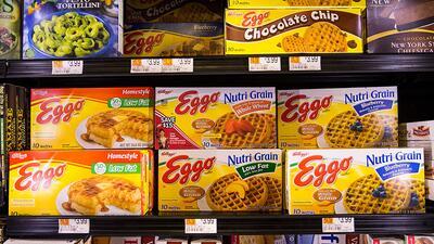 Kellogg retira del mercado 10,000 Eggo Waffles por riesgo de contaminación con listeria