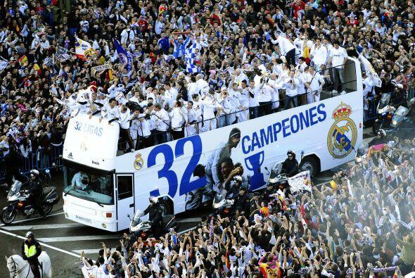 Ya son 32 ocasiones que el Madrid gana la Liga, nadie lo ha hecho tantas...