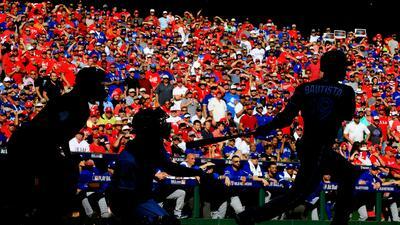Postales de postemporada del béisbol de Grandes Ligas