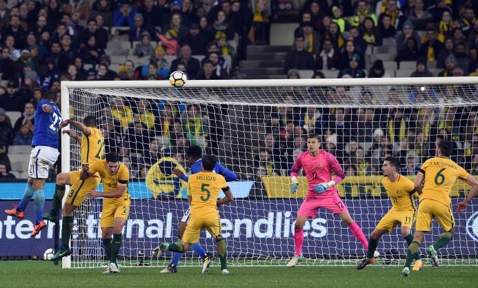Brasil despidió con goleada a Australia, que jugará la Copa Confederacio...