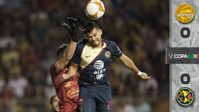 Águilas y Dorados firman somnoliento empate en la Jornada 3 de la Copa MX