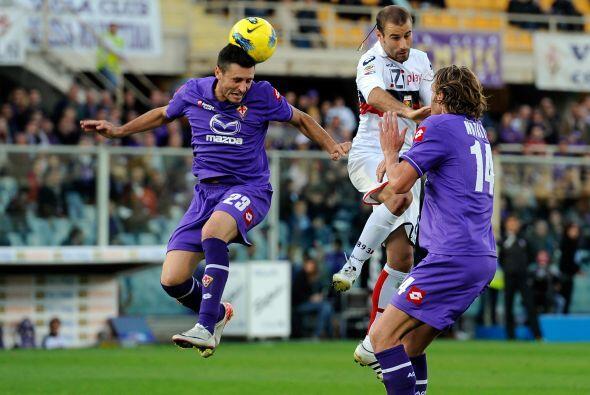 Fiorentina quería afianzarse en la mitad de la tabla, alejándose de la z...