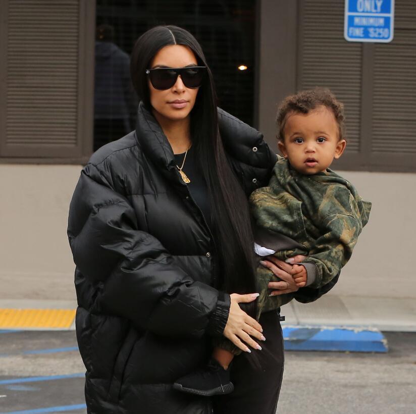 Kim Kardashian hijos