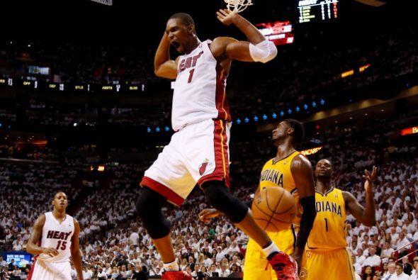 El Heat llegó a tener una ventaja de 37 puntos y eliminó a los Pacers po...