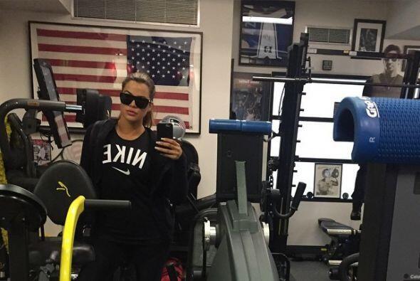 Por el tipo de fotografías que la Kardashian comparte, imaginamos que su...
