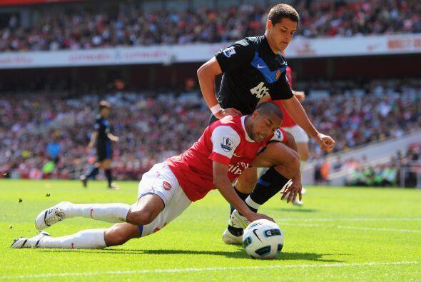 Arsenal fue otro de los conjuntos con los que se relacionó al Chicharito...