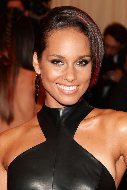 Alicia Keys nos mostró un buen equilibrio, que posiblemente marque un nu...