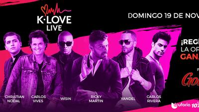 Gana boletos para K-Love Live