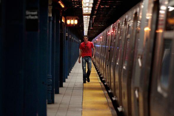 """""""El tren subterráneo está funcionando muy bien. No lo puedo creer. Hicie..."""