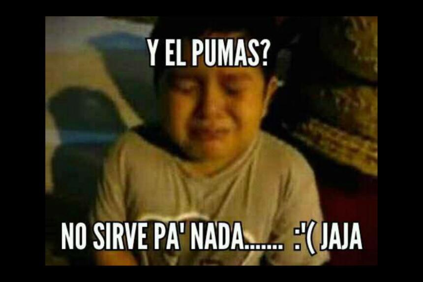 Los memes de la gran final Pumas vs. Tigres