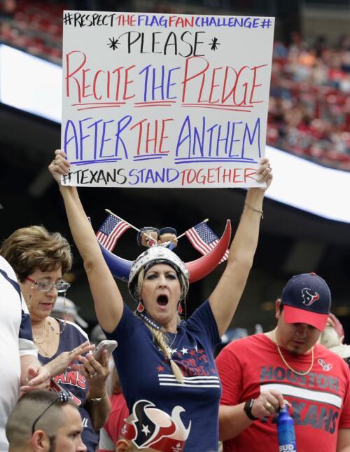 ¿Sirvieron las advertencias de Trump? Aunque hubo protestas pocos se hin...