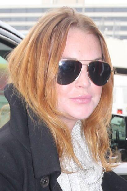 Lindsay Lohan quiso ir de vacaciones de fin de año a un lugar exótico.