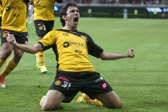 El delantero argentino Gabriel Rodríguez, regresa al futbol chileno lueg...