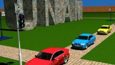Imagen de un simulador del investigador mexicano Carlos Gershenson para...