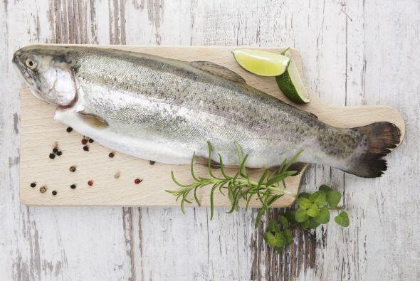 No olvides el pescado, también contiene vitamina D.