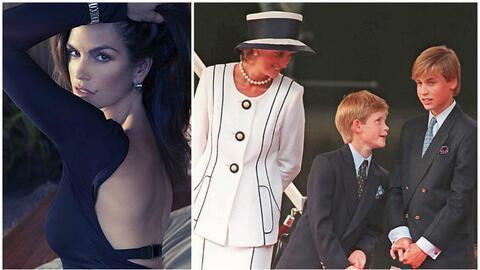La supermodelo Cindy Crawford recuerda cuando Lady Diana la llamó...