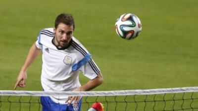 El 'Pipita' podría perderse le primer partido de Argentina tras no estar...
