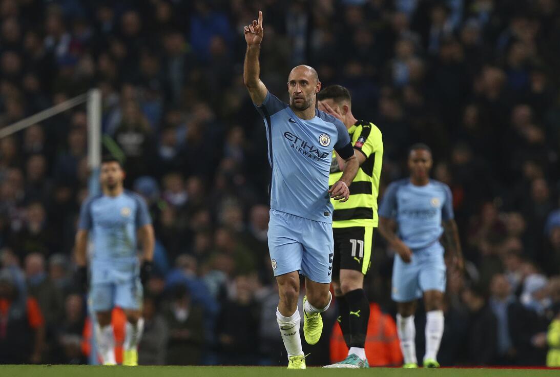 Pablo Zabaleta, un ícono de la historia actual del Manchester City, sald...