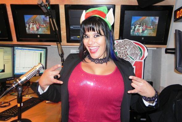 La DJ Marialen La Pecadora de La Que Buena 105.1 FM enseñó que se puede...