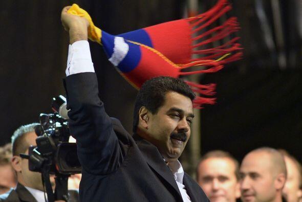 El presidente de Venezuela, Nicolás Maduro, cumple dos meses en e...