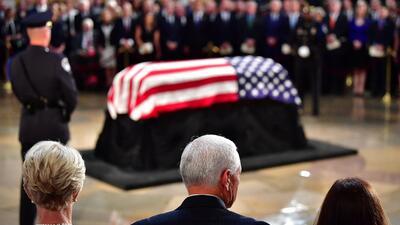 Los funerales de John McCain y el fariseísmo del Partido Republicano