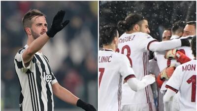 Juventus y Milan jugarán la final de la Coppa Italia 2017/2018