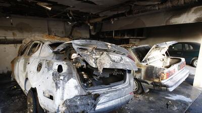 Daños causados por la oleada de incendios en Los Ángeles
