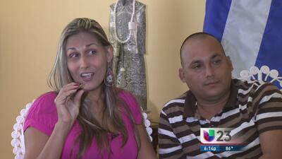 Transexual cubana Wendy Iriepa visita Miami