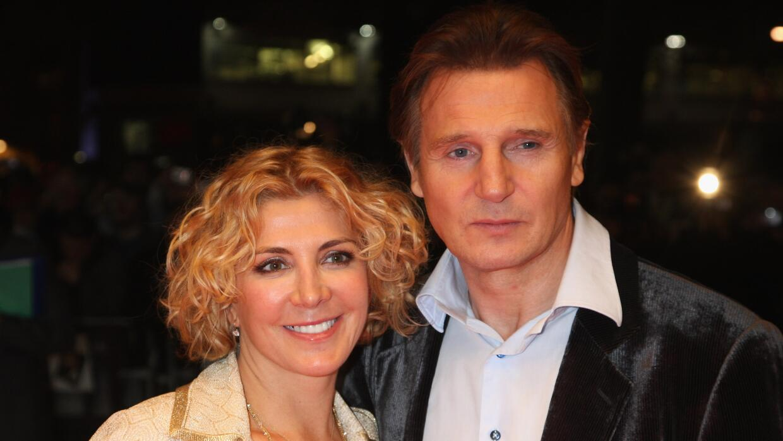Liam Neeson y Natasha Richardson