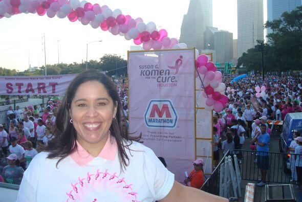 Grace Olivares, directora de Asuntos Comunitarios de Univison, también a...