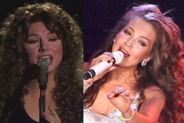 Pavel Arámbula imita muy bien la dulce voz de Thalía y sin duda tienen c...