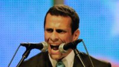 Henrique Capriles Radonski.