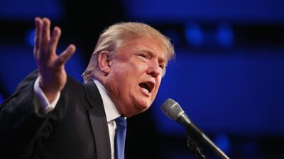 El magnate estadounidense Donald Trump anunció su intención de competir...