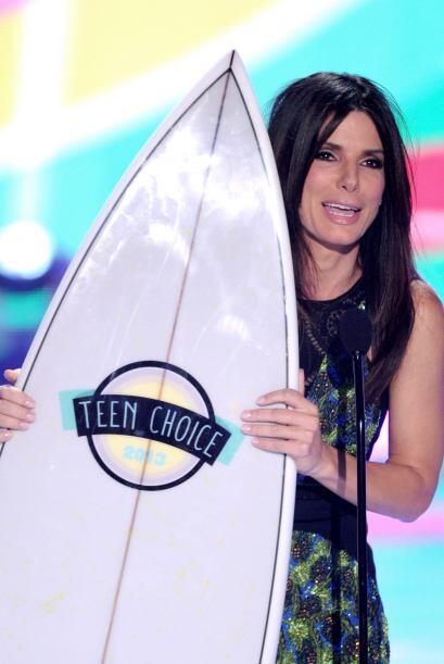 """Sandra Bullock ganó por estrella femenina del verano, gracias a """"The Hea..."""